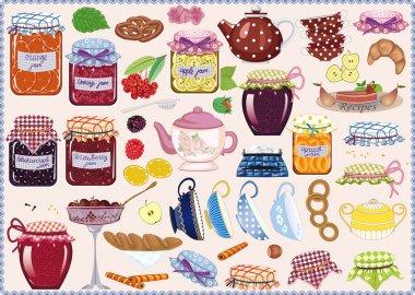 Tea with jam