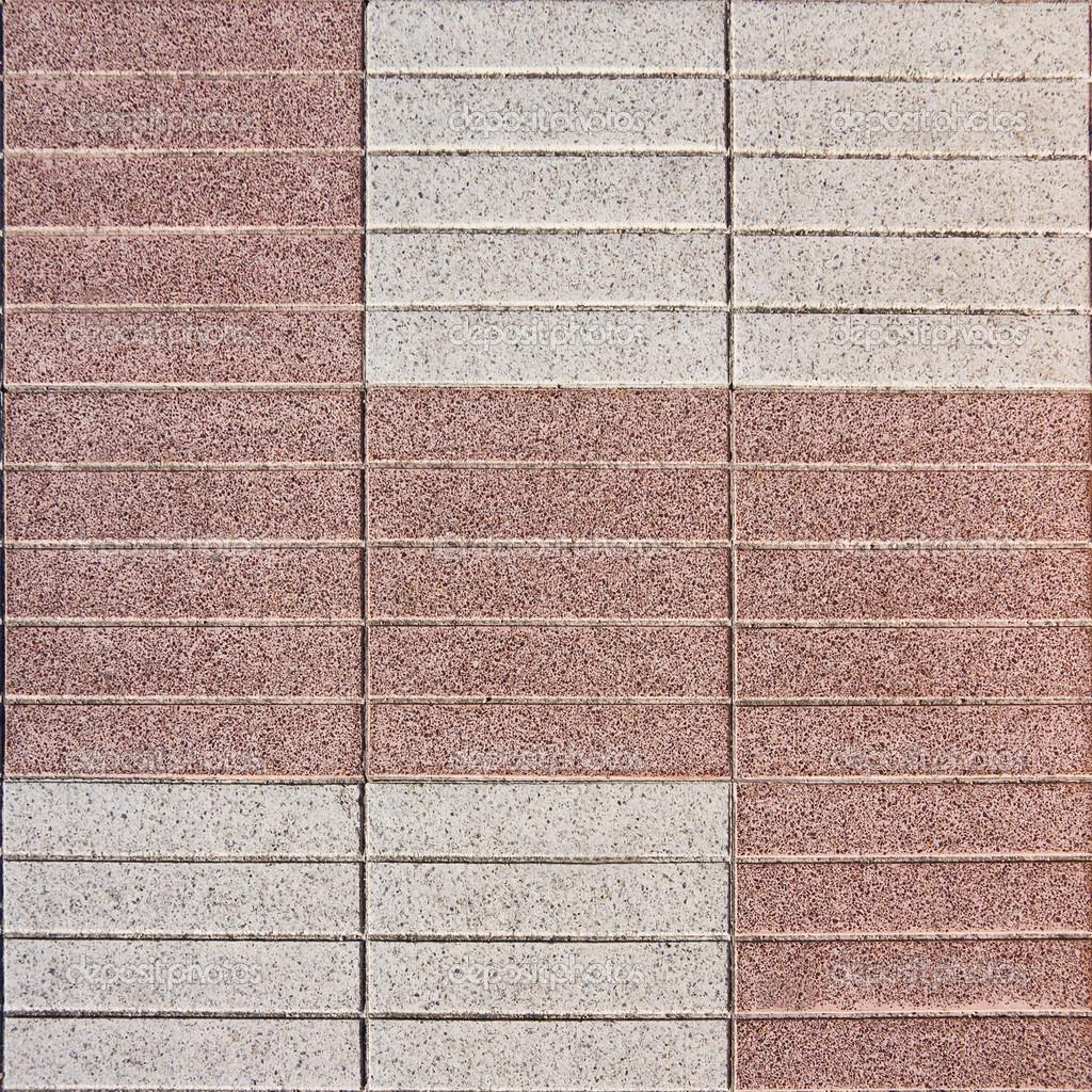 Marciapiede di cemento senza soluzione di continuit piastrelle mosaico foto stock - Piastrelle tipo mosaico ...