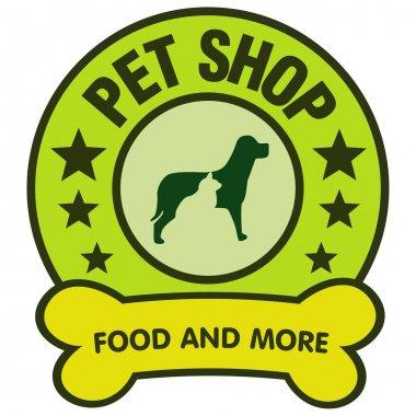 Petshop vector logo