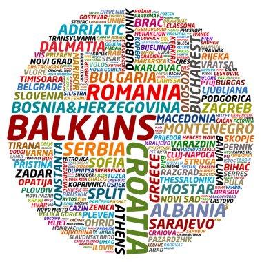 Balkans collage