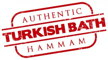 Authentic turkish bath stamp