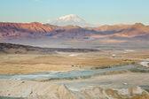 Fotografia vista del Monte ararat