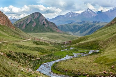 Majestic Tien Shan mountains