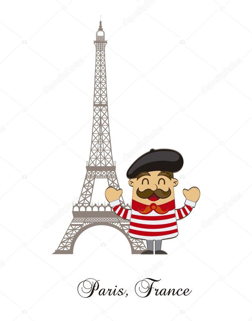 desenho animado franc u00eas vetor de stock  u00a9 yupiramos 12471426 Bulldog Clip Art Silhouette Bulldog Clip Art Silhouette