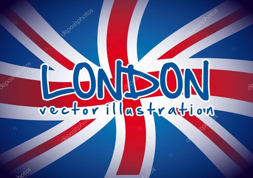 Häufig drapeau londres — Image vectorielle #20101167 WQ72