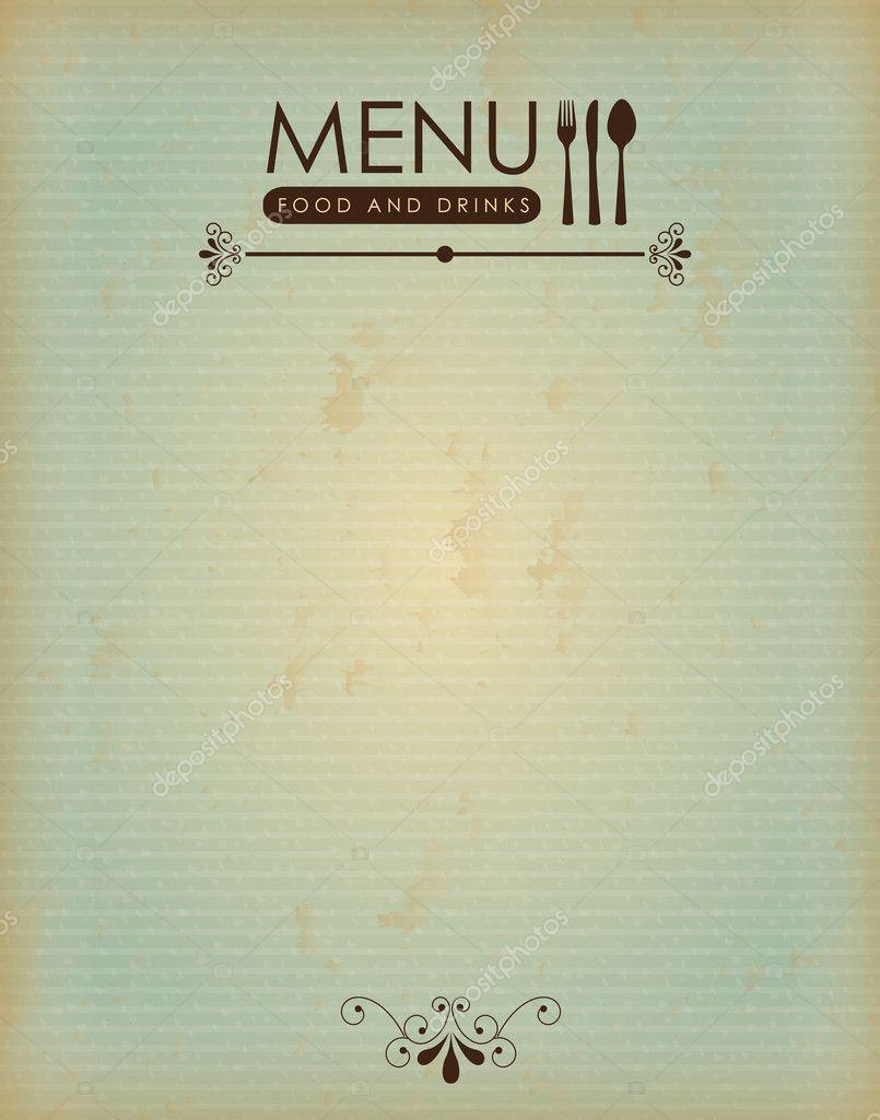 Essen Menü vintage — Stockvektor © yupiramos #25473147
