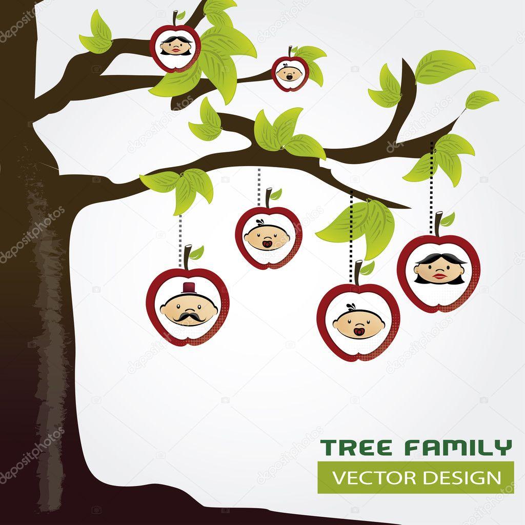 Soy Ağacı Stok Vektör Yupiramos 25715379