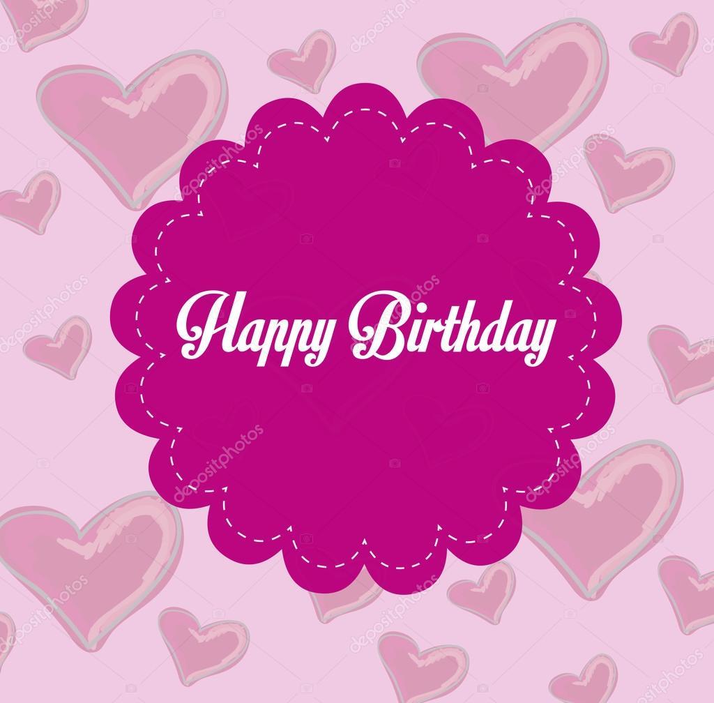 Gelukkige Verjaardag Frame Stockvector C Yupiramos 26054595