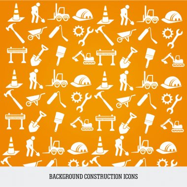 background construction icons