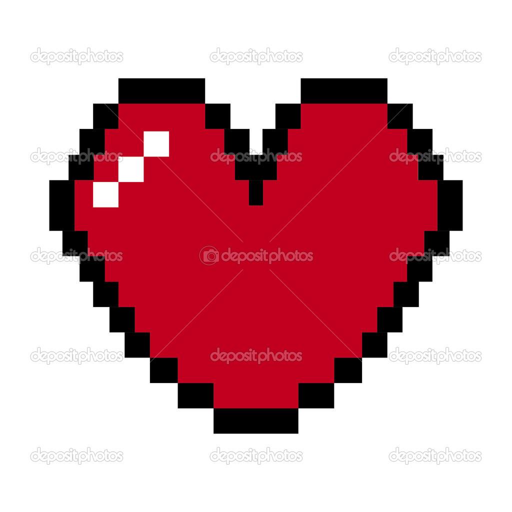 Pixel De Coeur Image Vectorielle Yupiramos 27060847