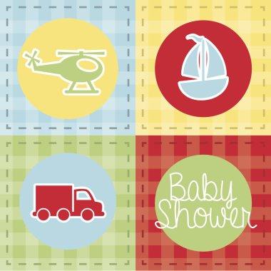 transport baby shower