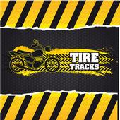 Fotografie tire tracks