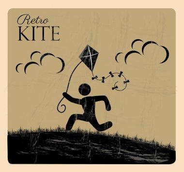 retro kite