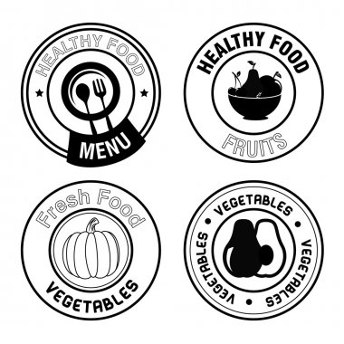 healthy food seals