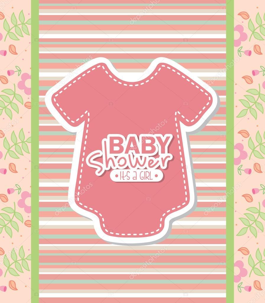 Baby Shower Stock Images ~ Baby shower — stock vector yupiramos