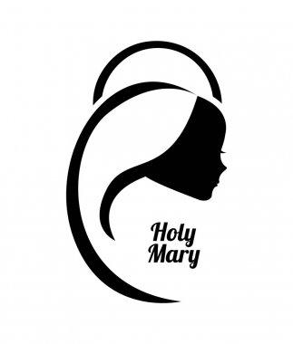Holy Mary design