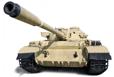 Russian tank T-55.