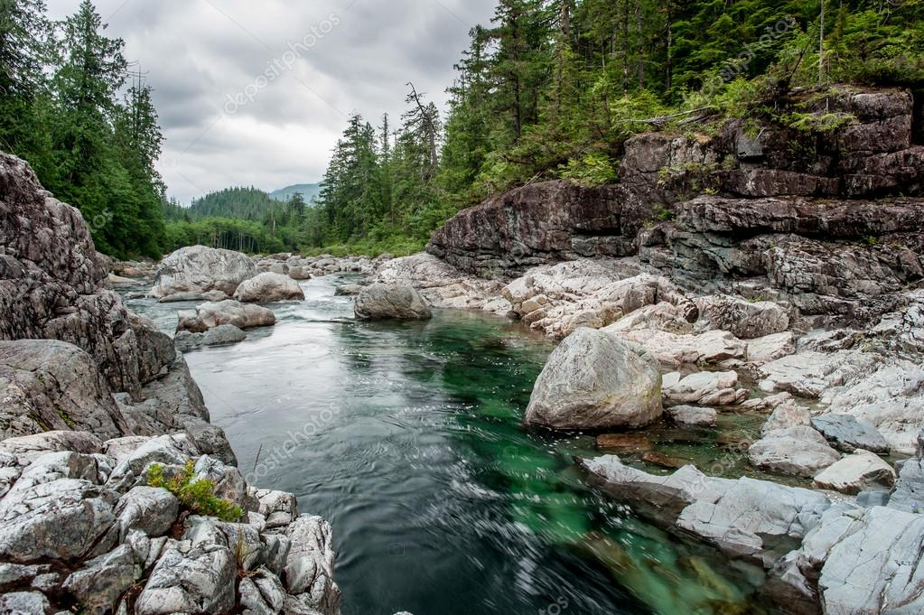 River on Sutton Pass, Vancouver Island