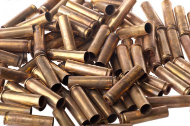 Used .30 carbine shell casing