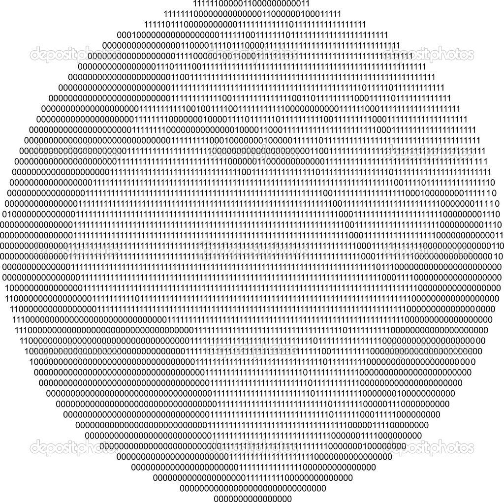 радужное рисунки из нулей и единиц том, что