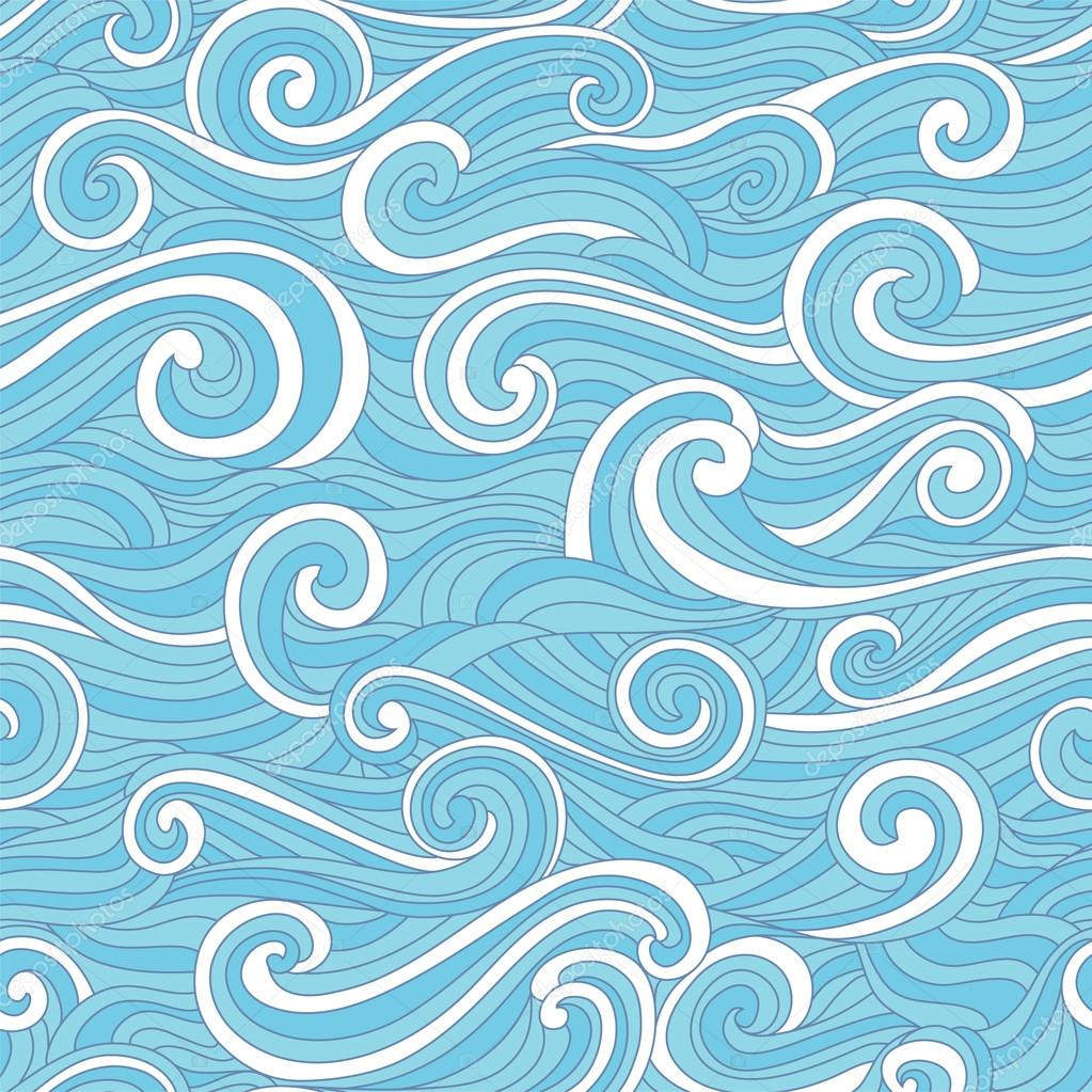 Abstract colorful wave pattern