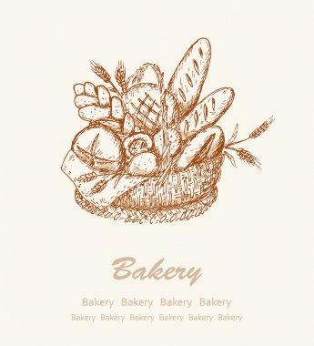 Bakery background 2