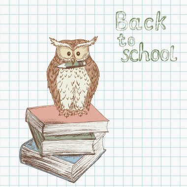 Back to school background 1