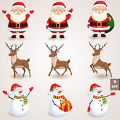 Photo Christmas icons set - 3