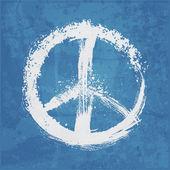 Fotografia illustrazione del segno di pace