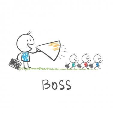 Strict boss