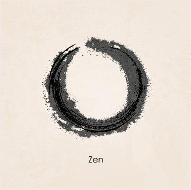 Zen calligraph
