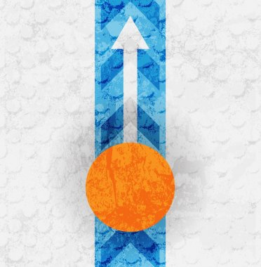 Colored arrow abstract vector background. For design