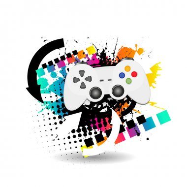 Game joypad stock vector