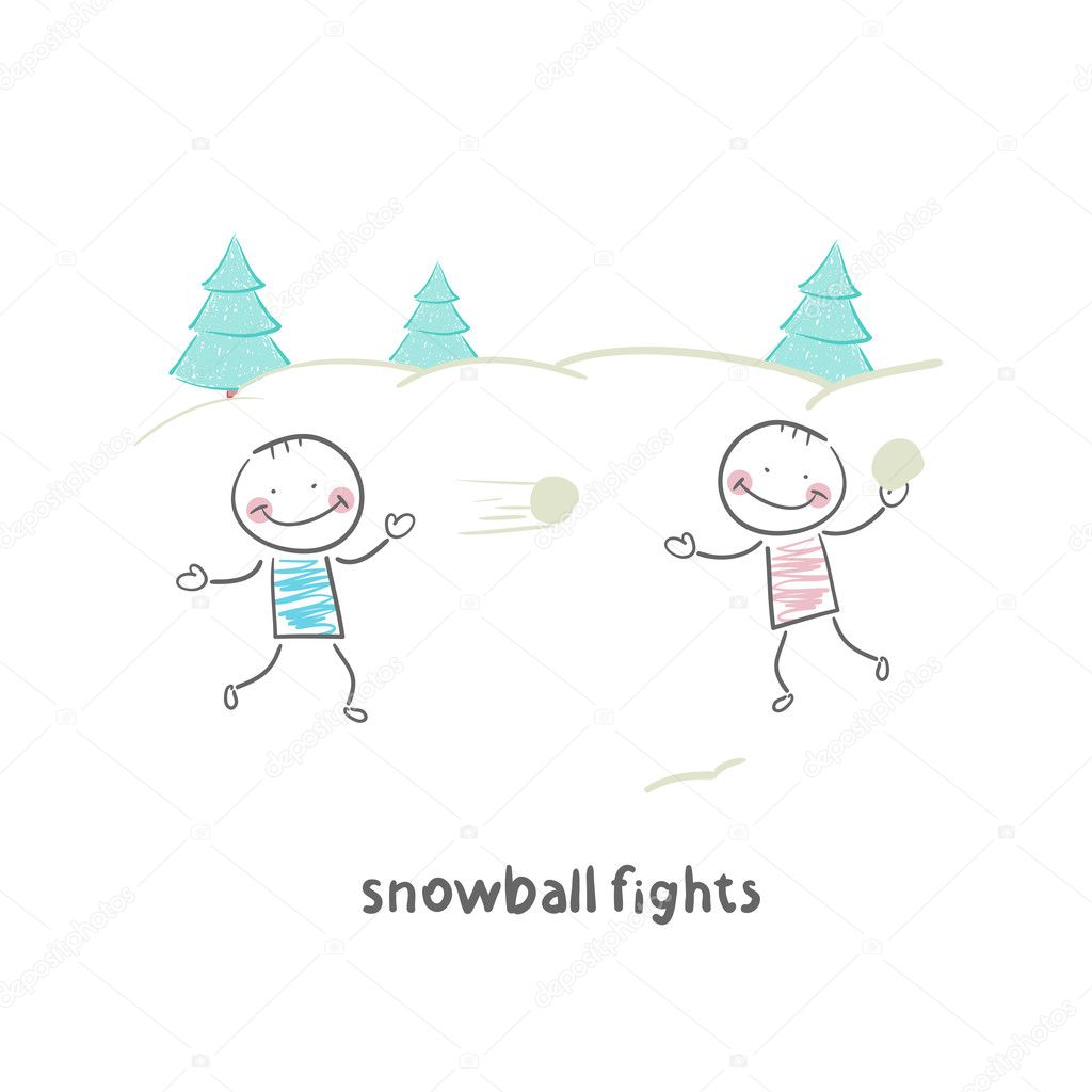 Snowball fights