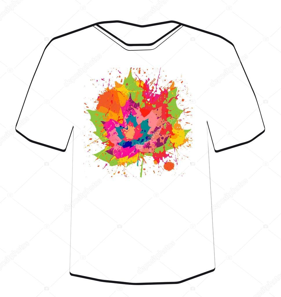 T-shirt-Design-Vorlage — Stockvektor © file404 #31178445