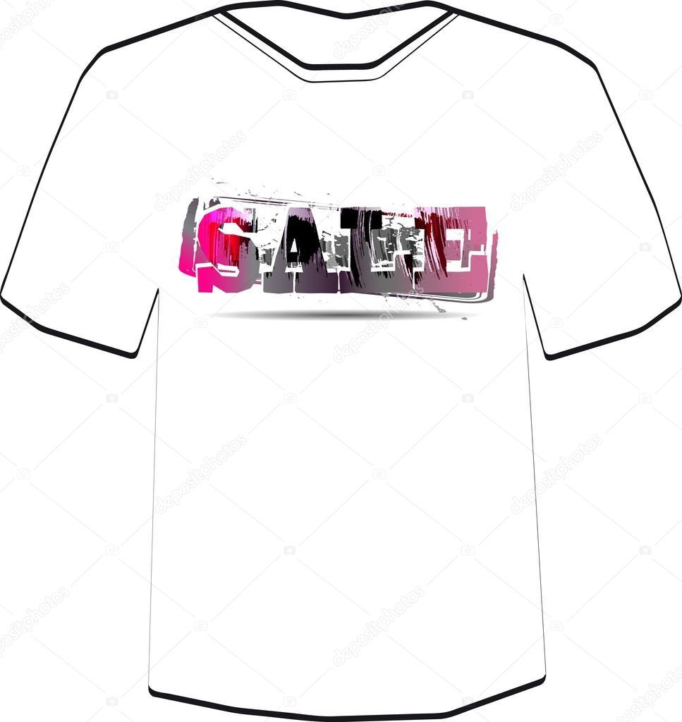 Verkauf. T-shirt-Design-Vorlage — Stockvektor © file404 #32699785