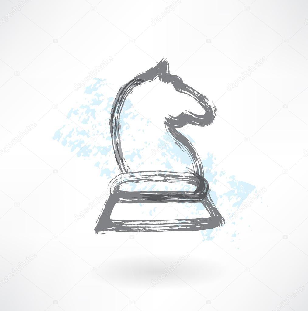 Chess Horse Icon Premium Vector In Adobe Illustrator Ai Ai Format Encapsulated Postscript Eps Eps Format
