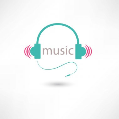 colored music headphones
