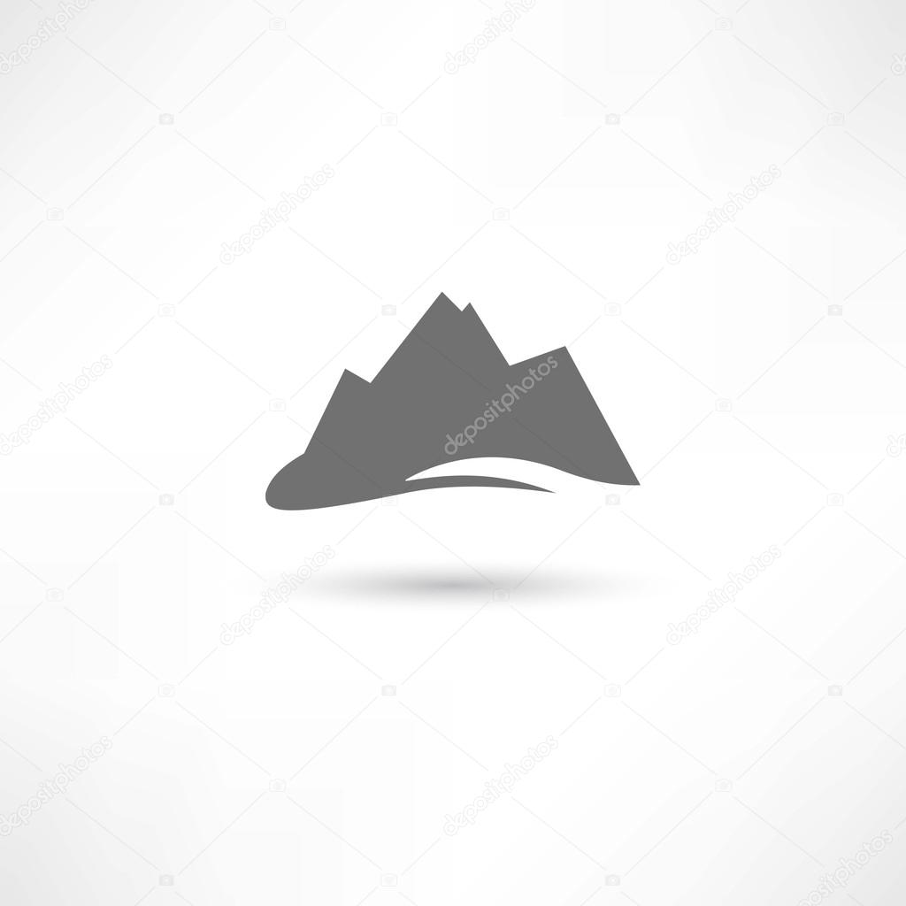 mountains symbol