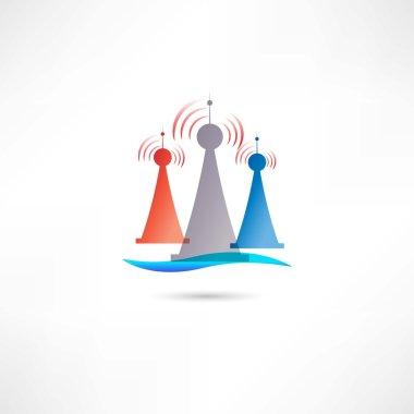 colored antennas