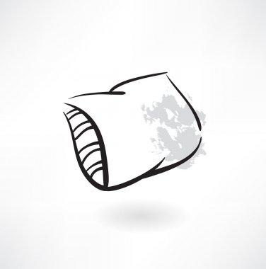 Pillow grunge icon