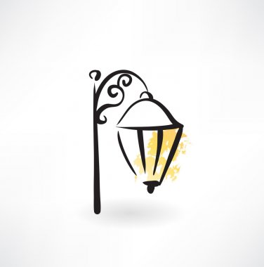streetlight grunge icon