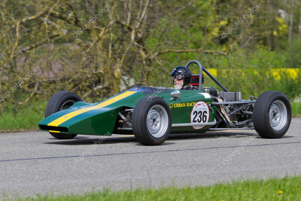 Vintage race car Lotus 61 FF from 1969 – Stock Editorial Photo ...