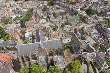 Aerial view of Utrecht, Netherlands