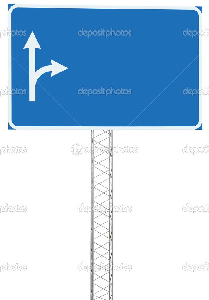 Autobahn Ausfahrt Fahren Richtung Info Strassenschild Panel Schild