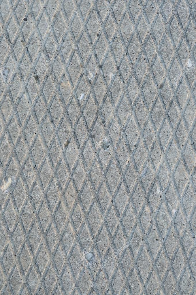 Alte Grau Verwittert Betonplatte Raue Grunge Abstrakte Zement Fliesen  Textur Diagonal Groove Muster Makro Closeup, Diagonal Genutet ...