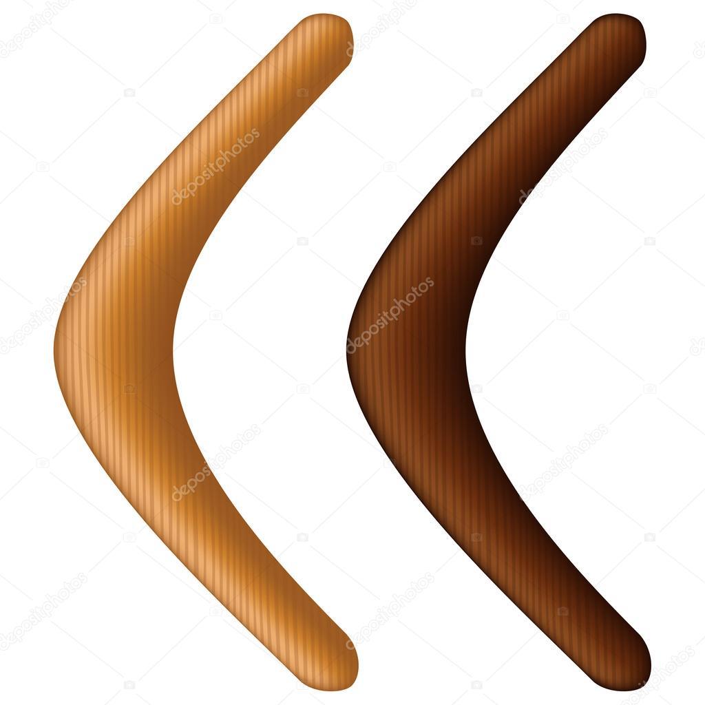 Bumerang — Stockvektor © tshooter #24359765