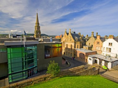 Inverness city Scotland