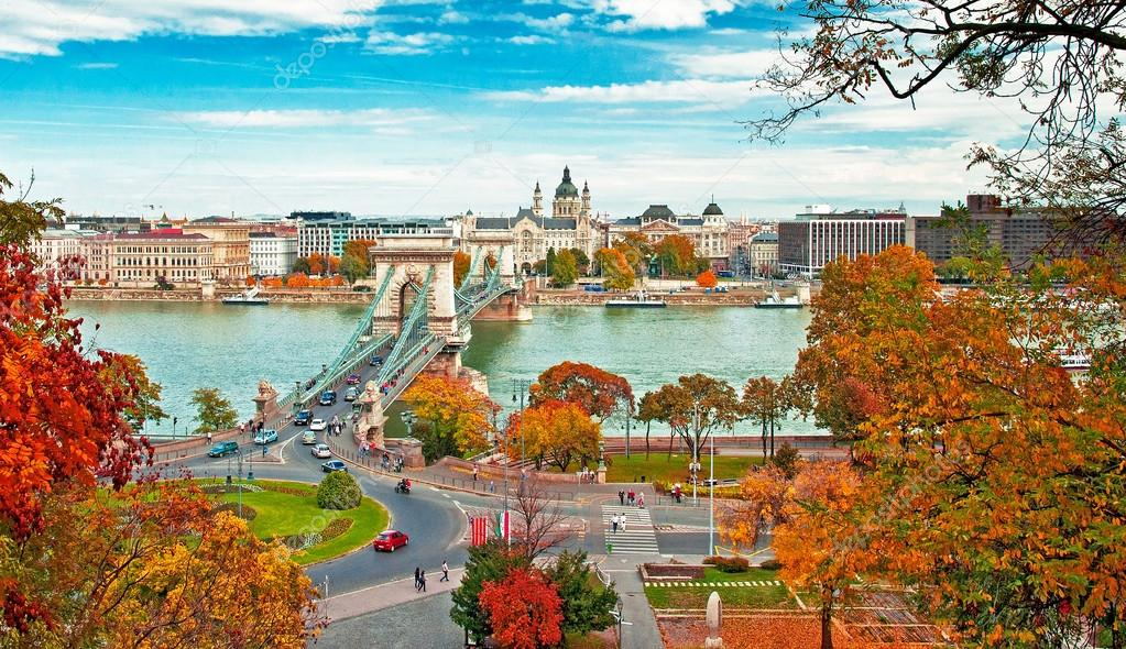 Nice view on Budapest