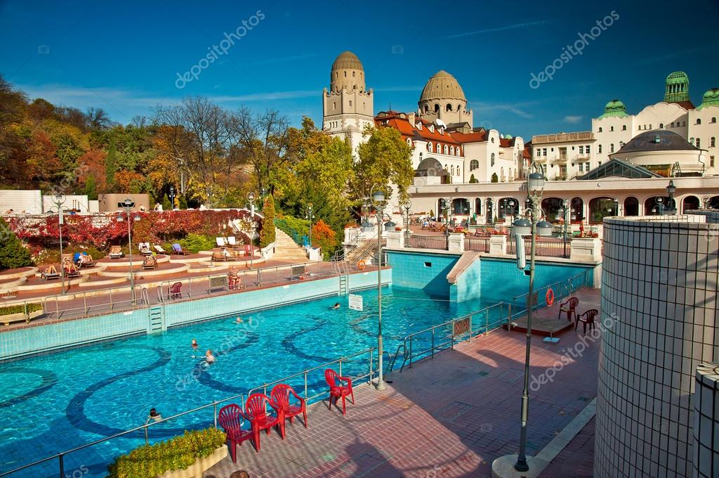 Gellert thermal baths in Budapest – Stock Editorial Photo © Botond ...